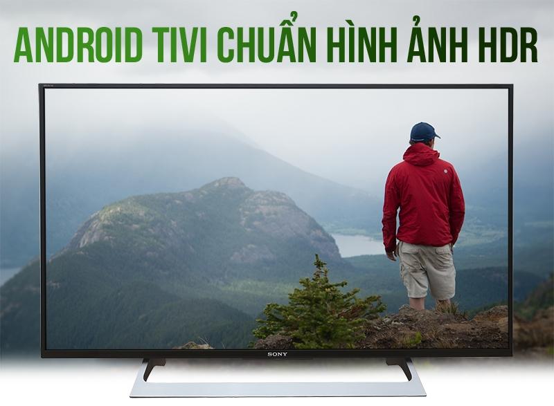 Android Tivi Sony 43 inch KD-43X8000E