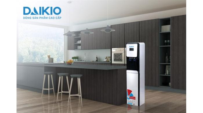 Máy lọc nước Daikio DKW00009B tích hợp cây nước nóng lạnh