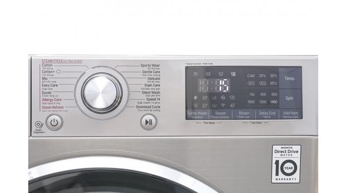 Máy giặt LG FC1409S2E Inverter 9Kg cửa ngang