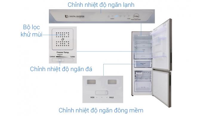 Tủ lạnh Samsung RB30N4170S8/SV 307L Inverter ngăn đá dưới