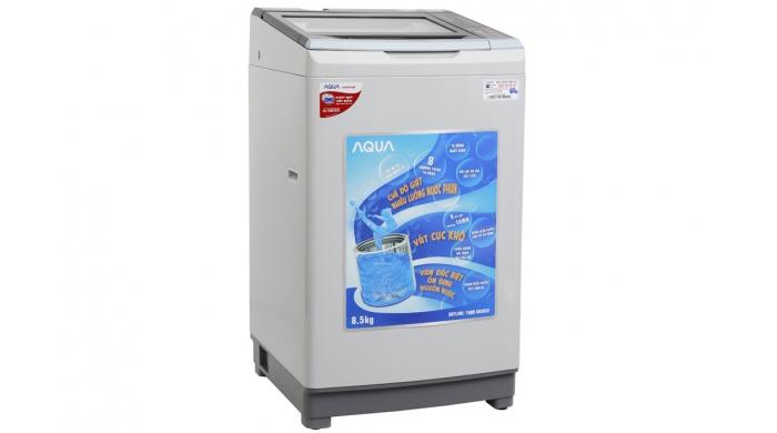 Máy giặt Sanyo Aqua S85AT 8.5kg cửa trên nắp kính