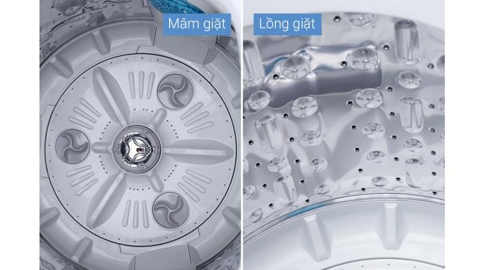 Máy giặt LG 10.5kg lồng đứng inverter T2350VSAW