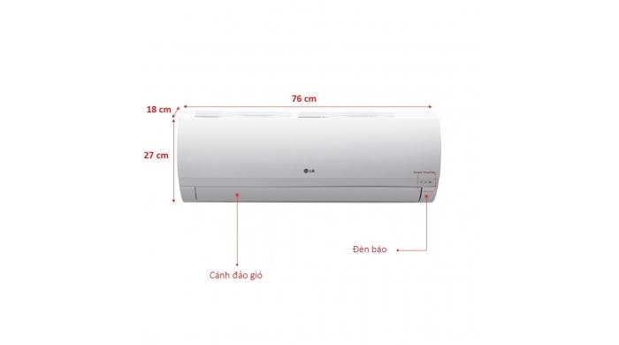 Điều hòa LG V10ENP 9000BTU 1 chiều Inverter