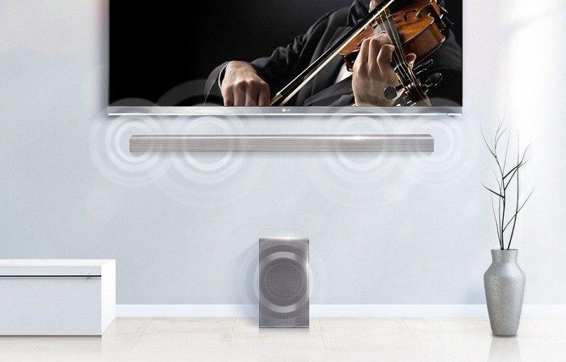 Loa Soundbar 4.1 LG SH8