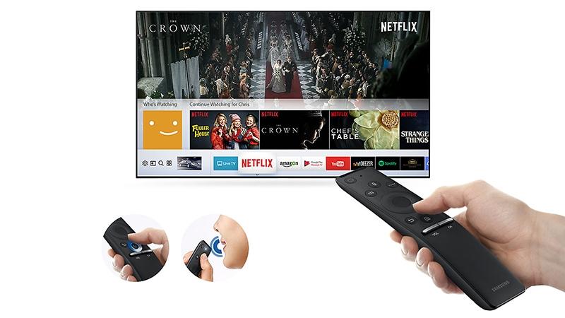 Remote thông minh có Magic Remote đi kèm tivi