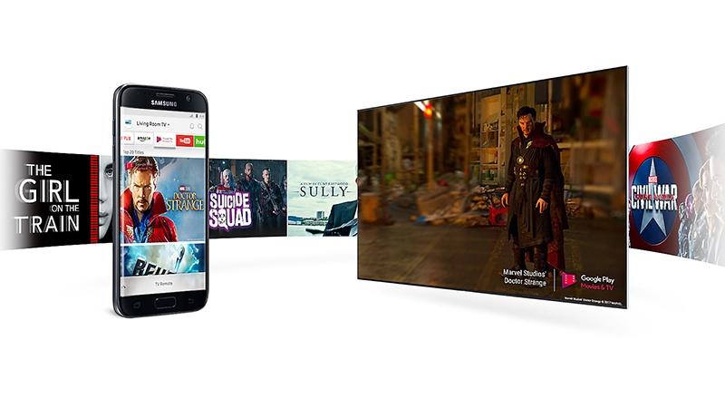 Điều khiển tivi, chia sẻ hình ảnh ngay trên điện thoại