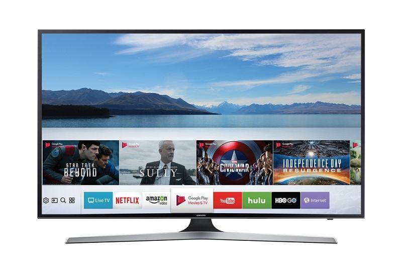 Smart Tivi Samsung 55 inch UA55MU6100 - Nhiều ứng dụng giải trí hấp dẫn