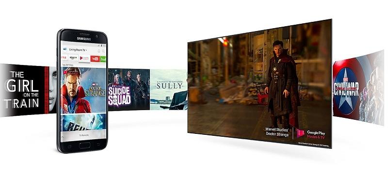 Smart Tivi Samsung 55 inch UA55MU6100 – Samsung Smart View