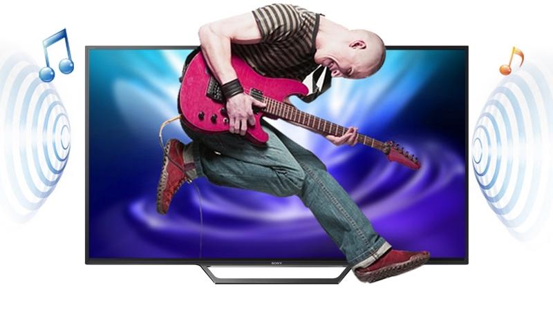 Internet Tivi Sony 49 inch KDL-49W660E - Âm thanh trung thực