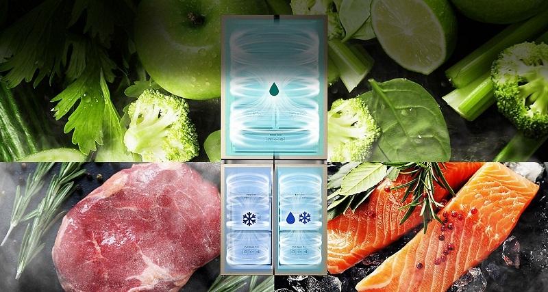 Công nghệ 3 dàn lạnh độc lập (Triple Cooling) độc đáo