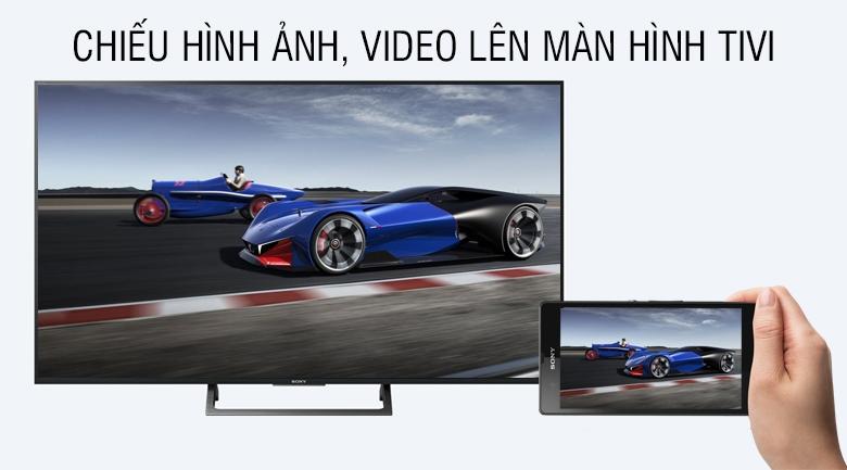 Chiếu hình ảnh, video lên tivi