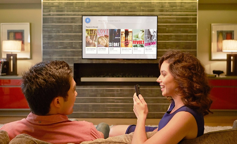 Smart Tivi Sony 49 inch KDL-49W800F– Tìm kiếm bằng giọng nói