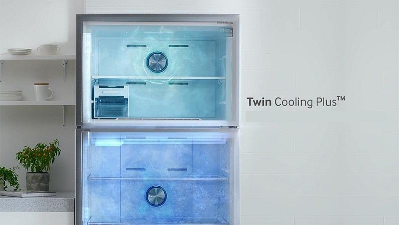 Công nghệ 2 dàn lạnh riêng biệt Twin Cooling Plus làm lạnh hiệu quả