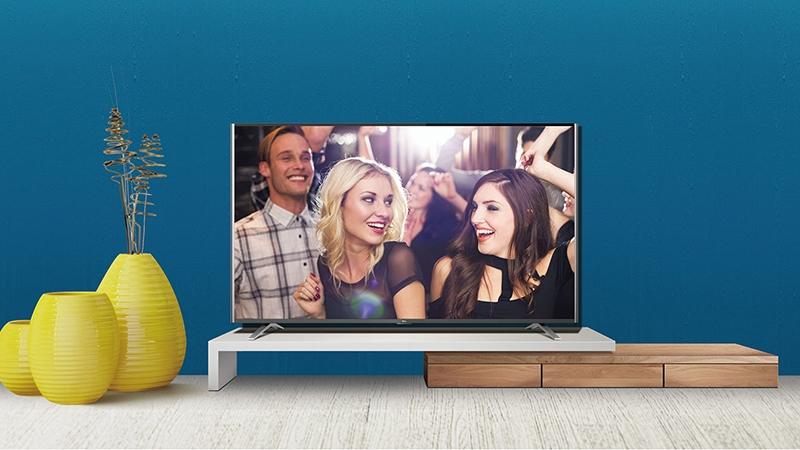 Smart Tivi TCL 50 inch L50C1-UF - Thiết kế tivi tinh tế đẹp mắt