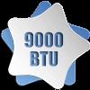 9000BTU