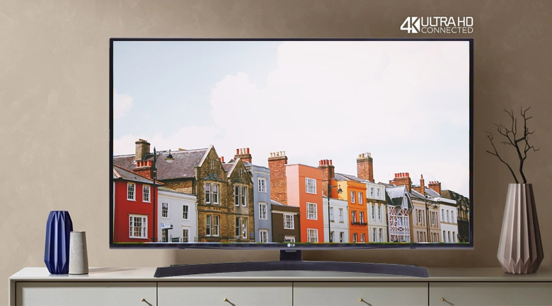 Smart Tivi LG 4K 55 inch 55UM7400PTA - Thiết kế