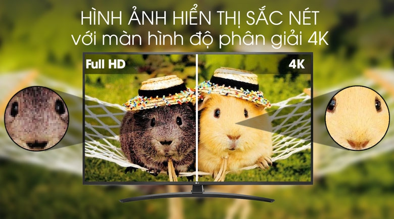 Smart Tivi LG 4K 55 inch 55UM7400PTA - Ultra HD 4K