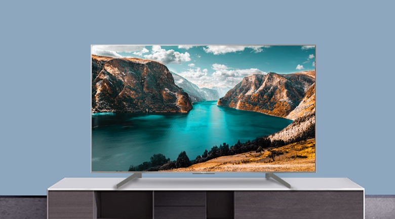 Android Tivi Sony 4K 43 inch KD-43X8500G/S - Thiết kế