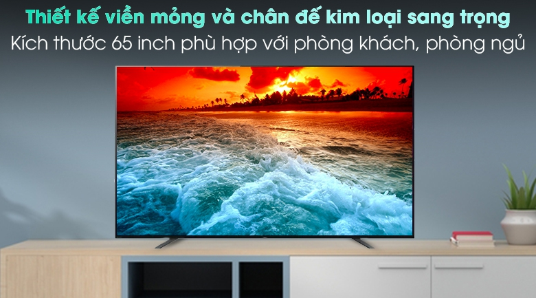 Android Tivi OLED Sony 4K 65 inch KD-65A8H - Thiết kế