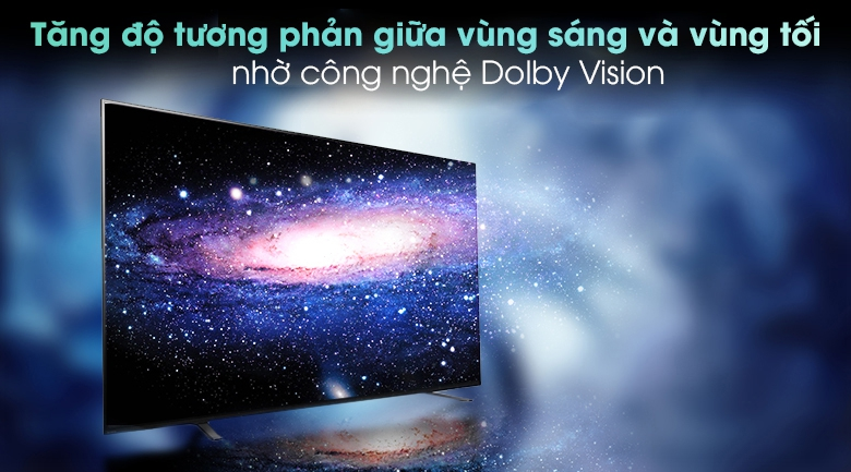 Android Tivi OLED Sony 4K 65 inch KD-65A8H - Công nghệ Dolby Vision