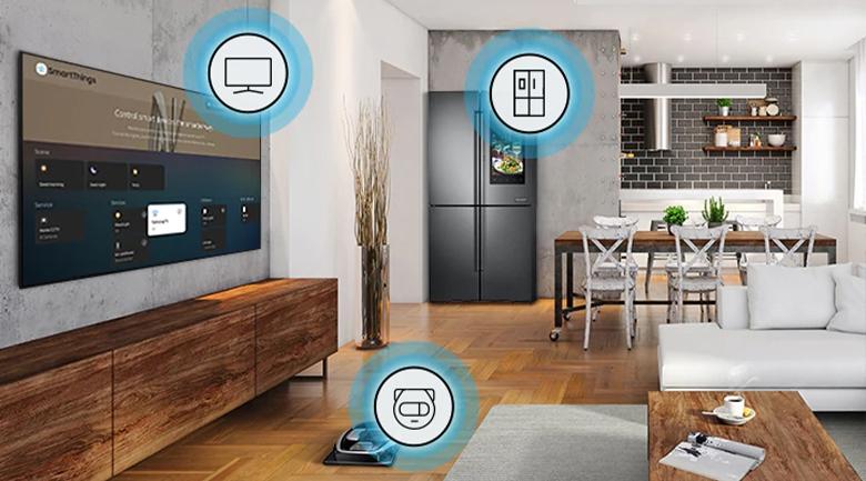 Smart Tivi QLED Samsung 8K 75 inch QA75Q950TS - Hệ sinh thái