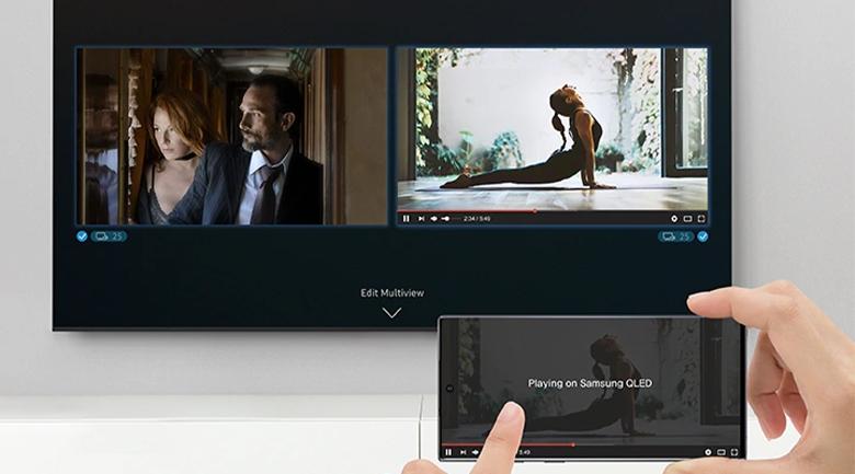 Smart Tivi QLED Samsung 8K 75 inch QA75Q950TS - Multi View