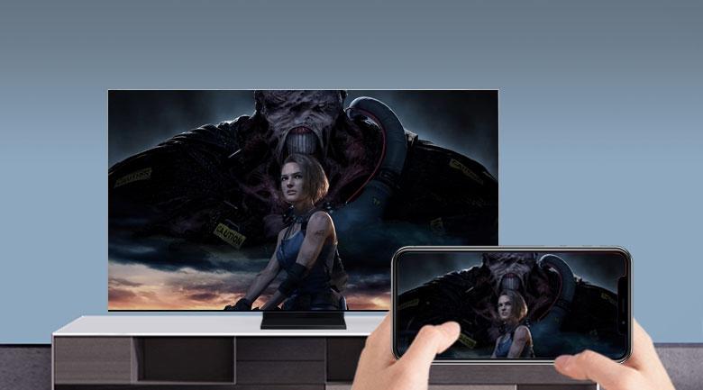 Smart Tivi QLED Samsung 8K 75 inch QA75Q950TS - Screen Mirroring và AirPlay 2