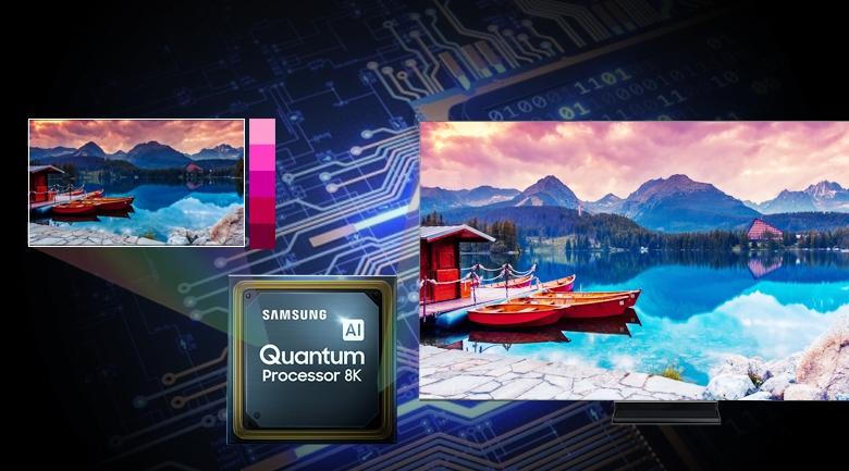 Smart Tivi QLED Samsung 8K 75 inch QA75Q950TS - Quantum 8K Processor