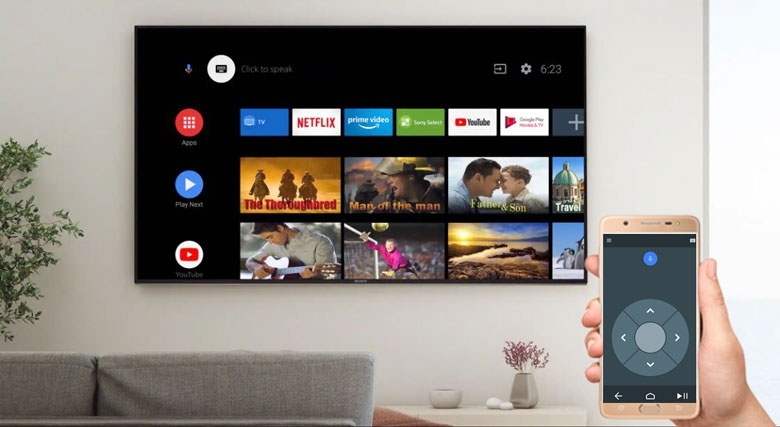 Android Tivi Sony 4K 43 inch KD-43X7500H - Android TV