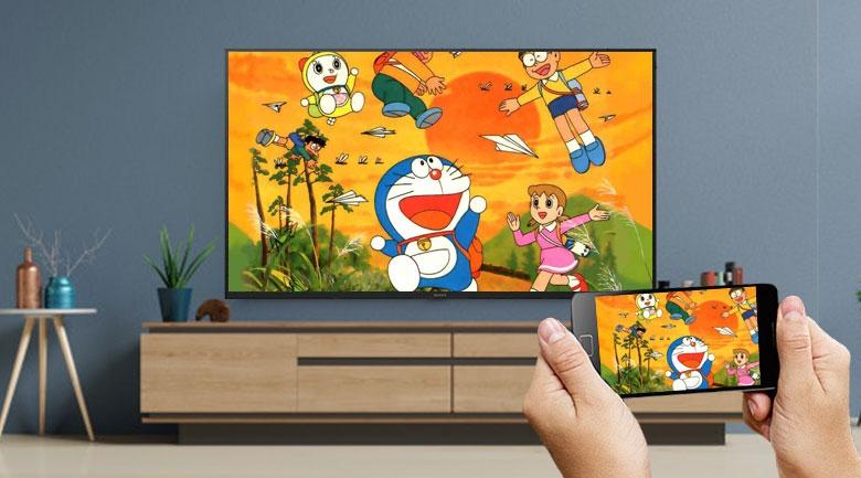 Android Tivi Sony 4K 43 inch KD-43X7500H - Chromecast