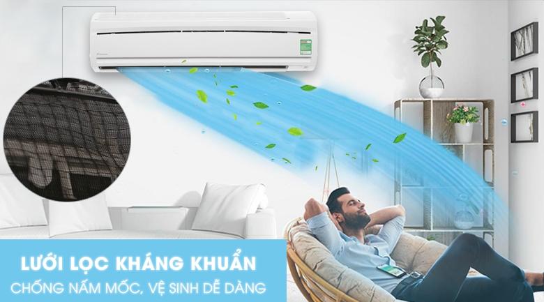 Tấm vi lọc bụi - Máy lạnh Daikin 2.0 HP FTC50NV1V