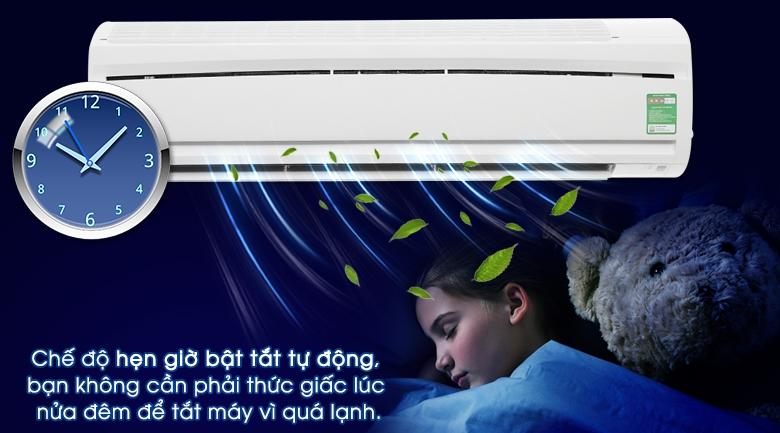 Tính năng hẹn giờ bật tắt máy - Máy lạnh Daikin 2.0 HP FTC50NV1V