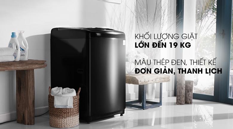 Máy giặt lồng đứng 16kg kết hợp bảng điều khiển tiếng Việt dễ sử dụng - Máy giặt LG Inverter 19 kg TH2519SSAK