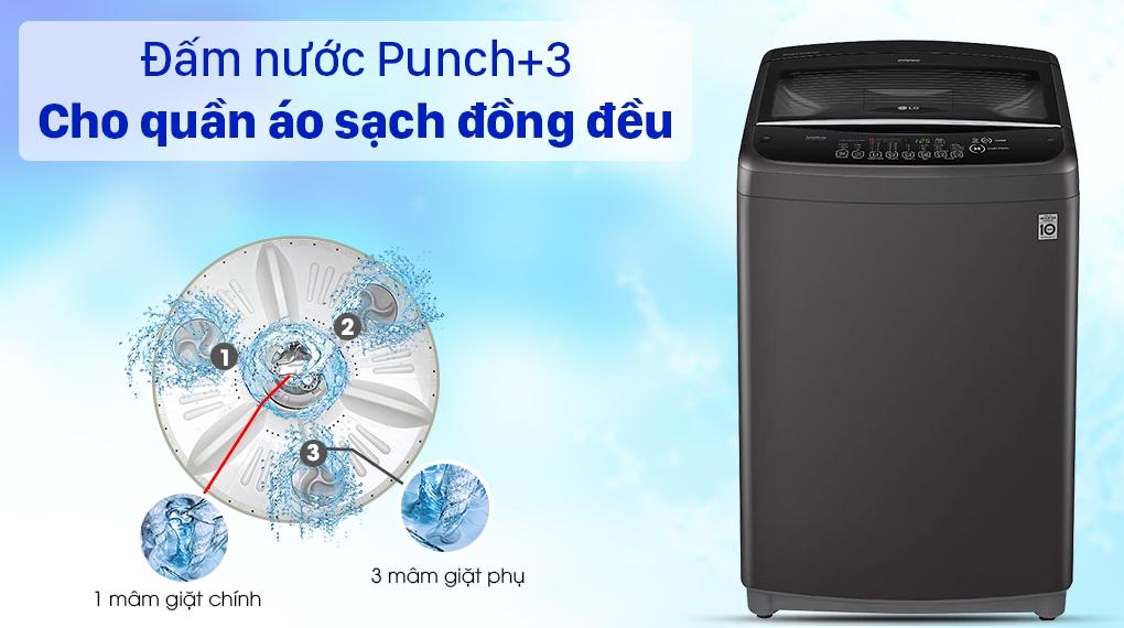 Máy giặt LG T2555VSAB - đấm nước Punch+3