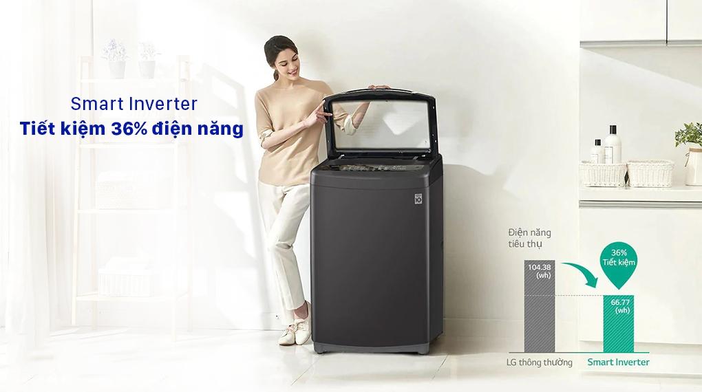 Máy giặt LG T2555VSAB - Smart Inverter