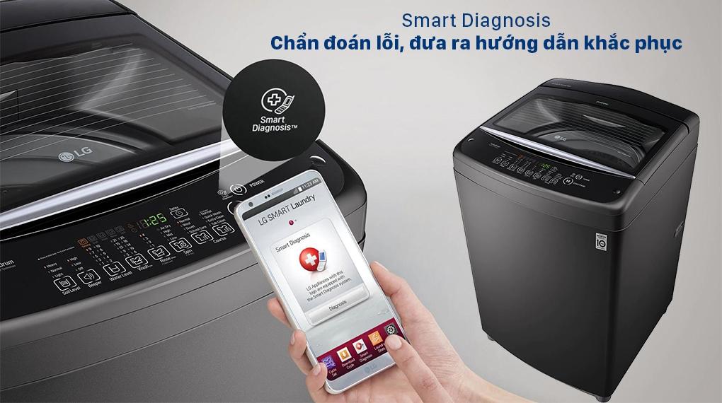 Máy giặt LG T2555VSAB - Smart Diagnosis