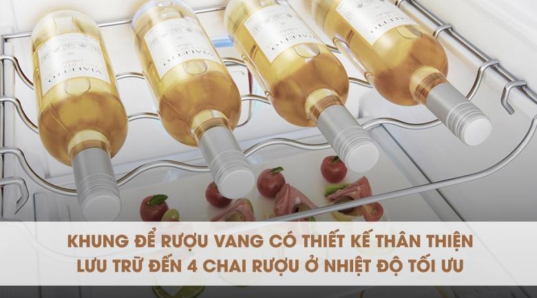 Tiện lợi với giá đựng rượu chuyên biệt - Tủ lạnh LG Inverter InstaView Door-in-Door 601 lít GR-X247JS