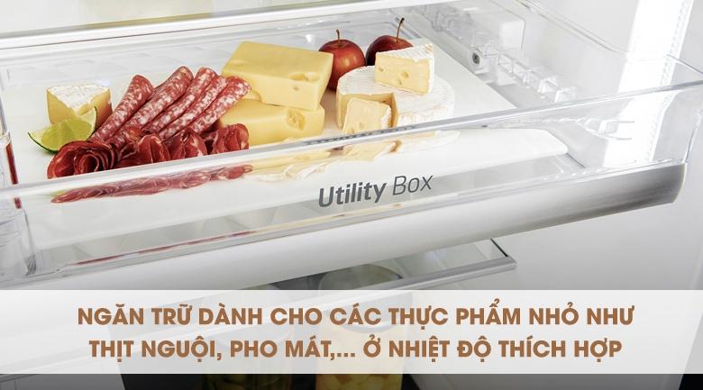 Tiện dụng với ngăn chứa riêng biệt cho thực phẩm nguội - Tủ lạnh LG Inverter InstaView Door-in-Door 601 lít GR-X247JS