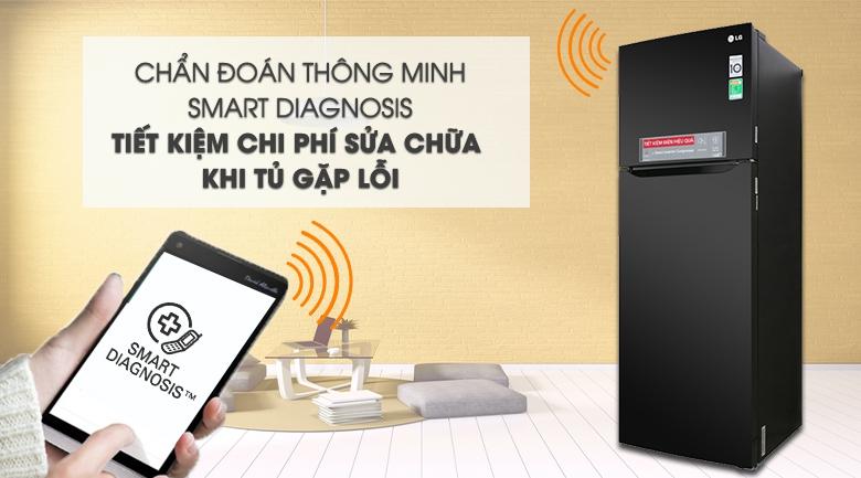Chẩn đoán lỗi thông minh - Tủ lạnh LG Inverter 315 lít GN-M315BL