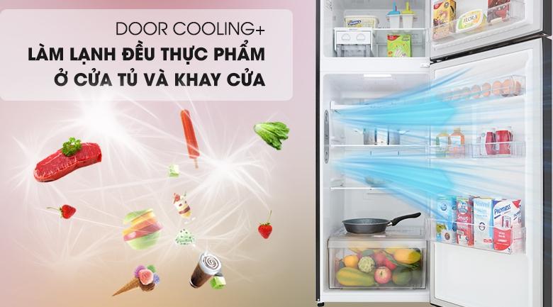 DoorCooling+ - Tủ lạnh LG Inverter 315 lít GN-M315BL