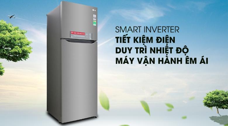 Công nghệ Inverter - Tủ lạnh LG Inverter 315 lít GN-M315PS