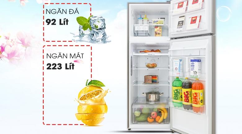 Tủ lạnh LG Inverter 315 lít GN-D315S - Dung tích