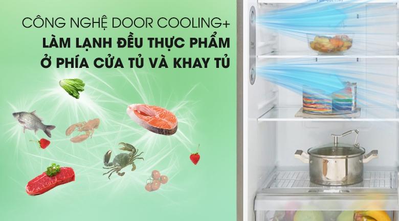DoorCooling+ - Tủ lạnh LG Inverter 315 lít GN-D315S