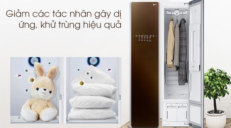 Tủ chăm sóc quần áo thông minh LG Styler S3RF - Giảm tác nhân gây dị ứng